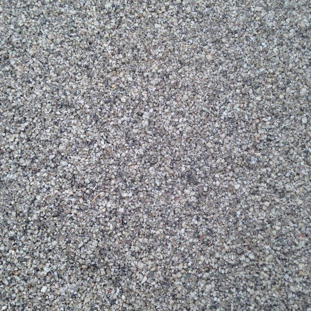 Driveway after application of Resin Bound Surfacing in colour Silver Moon